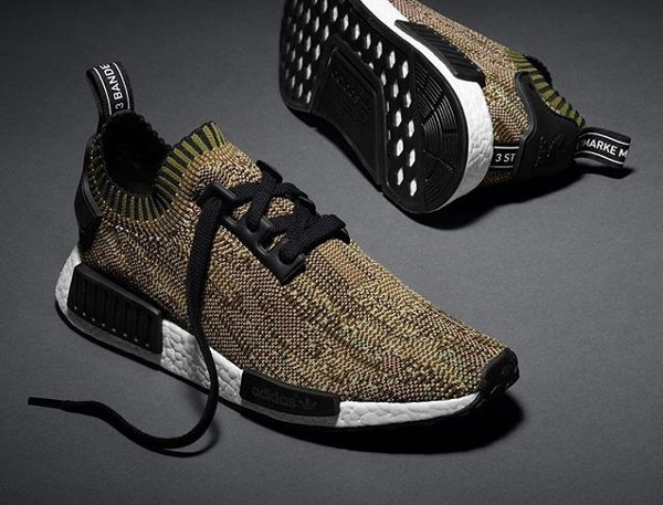 Adidas NMD Runner PK Camo Olive Green