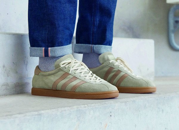 Adidas Originals Tobacco Riviera 2016 Tech Chrome Dark Sand pas cher (1)