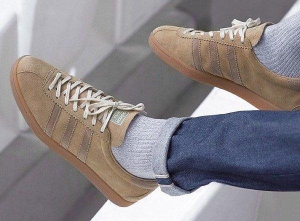 Adidas Originals Tobacco Riviera OG Pale Nude Cardboard pas cher (1-1)