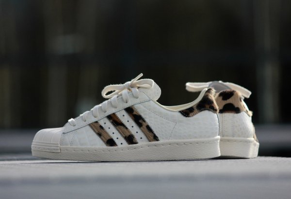 Adidas Superstar 80's Animal 'Croc Leopard'
