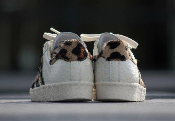 Adidas Superstar 80s Animal Chalk White (2)