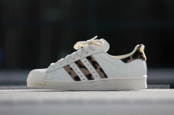 Adidas Superstar 80s Animal Chalk White (3)
