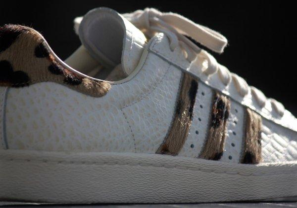 Adidas Superstar 80s Animal Chalk White (4)