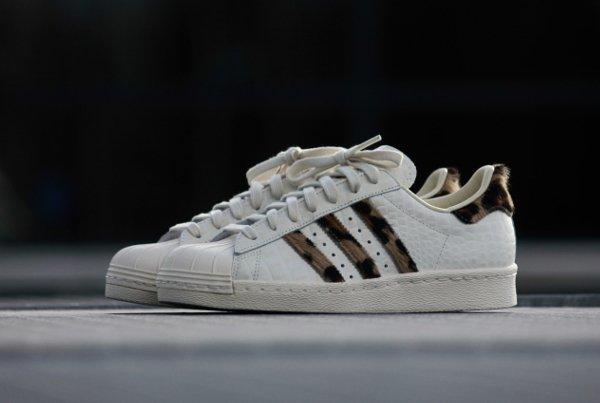 Adidas Superstar 80s Animal Chalk White (6)