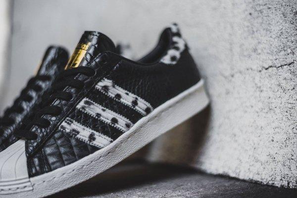 Adidas Superstar 80s Animal Core Black (2)