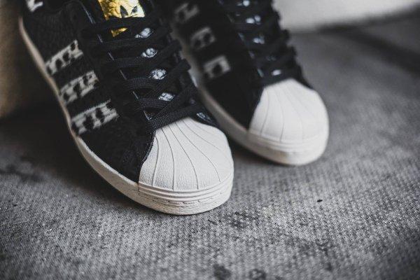 Adidas Superstar 80s Animal Core Black (3)