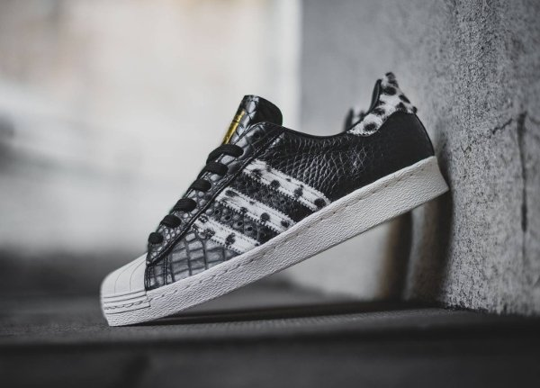 Adidas Superstar 80s Animal Core Black (4)