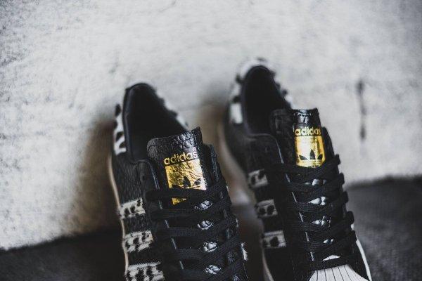 Adidas Superstar 80s Animal Core Black (7)
