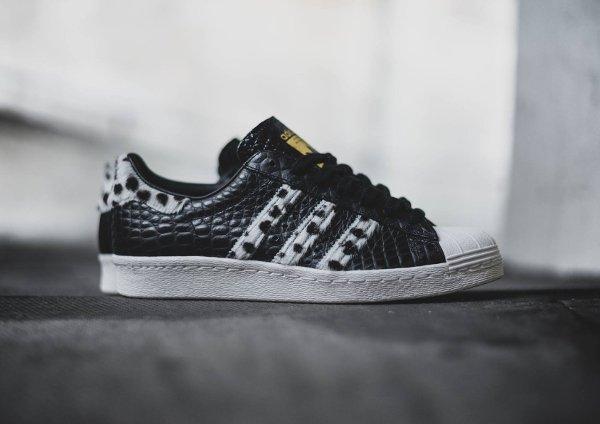 Adidas Superstar 80s Animal Core Black (8)