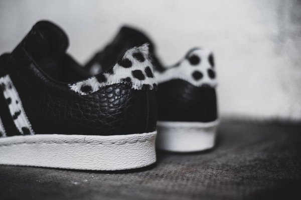 Adidas Superstar 80s Animal Core Black (9)