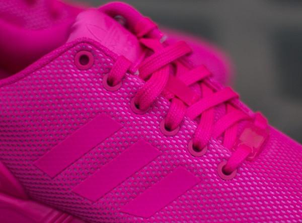 adidas zx flux rose