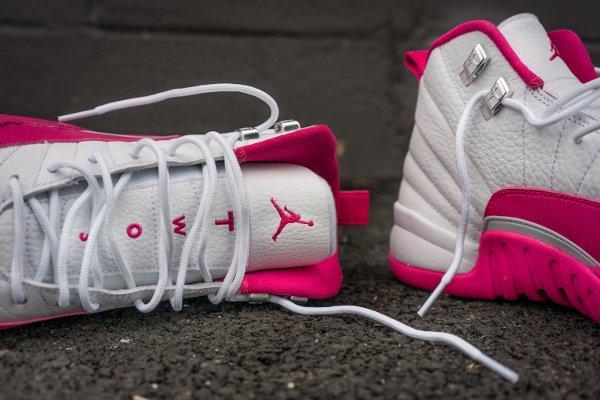 Air Jordan 12 Retro Vivid Pink (2)