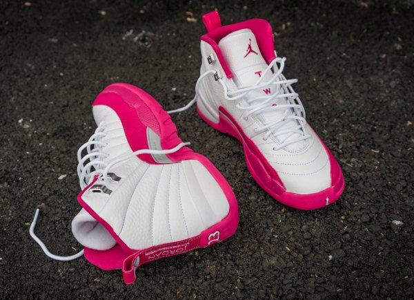 Air Jordan 12 Retro Vivid Pink (3)