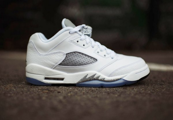 Air Jordan 5 Low Metallic Silver