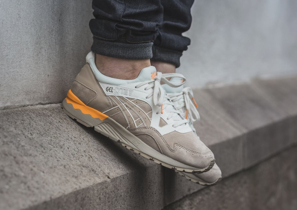 Asics Gel Lyte V Casual Lux Sand pas cher (4)