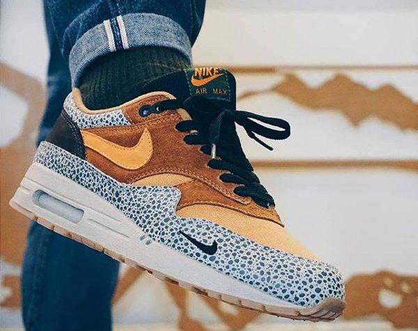Atmos x Nike Air Max 1 Safari - @diggitalos