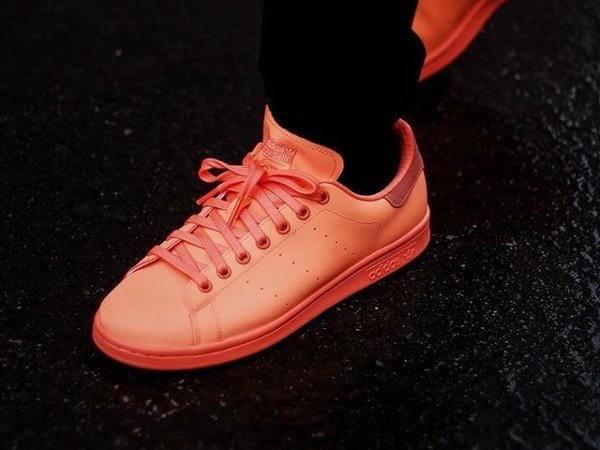 Basket Adidas Stan Smith Triple Sunset Glow Reflective pas cher (1)