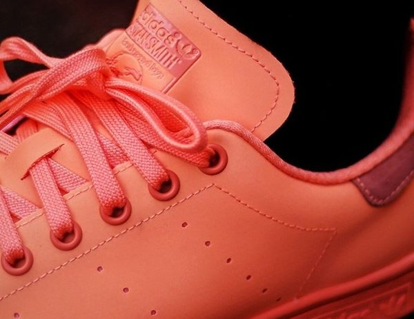 Basket Adidas Stan Smith Triple Sunset Glow Reflective pas cher (2)