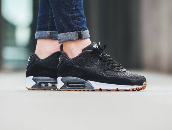 Basket Nike Air Max 90 PRM Black Safari Gum (3)