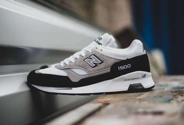 New Balance M1500KG Black Grey White (Made in UK) (1)
