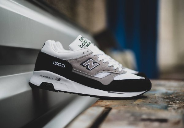 New Balance M1500KG Black Grey White (Made in UK) (2)