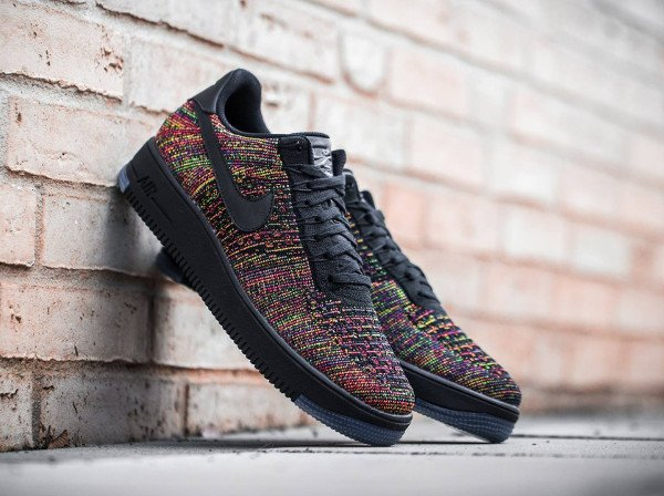 Nike Air Force 1 Flyknit Low Multicolor (1)