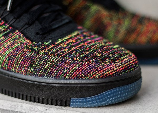 Nike Air Force 1 Flyknit basse Multicolor (2)