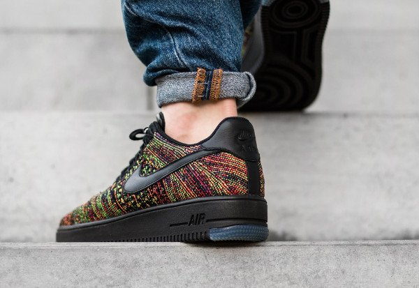 Nike Air Force 1 Flyknit basse Multicolor (3)