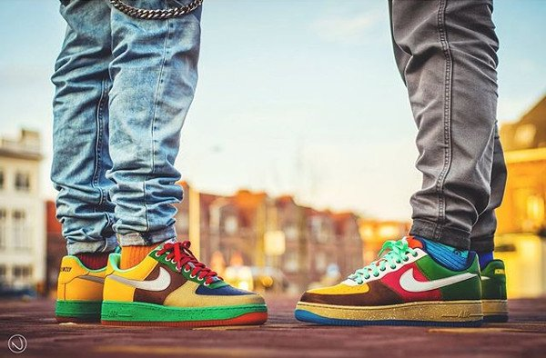 Nike Air Force 1 ID What The AF1 - @iconicksoles