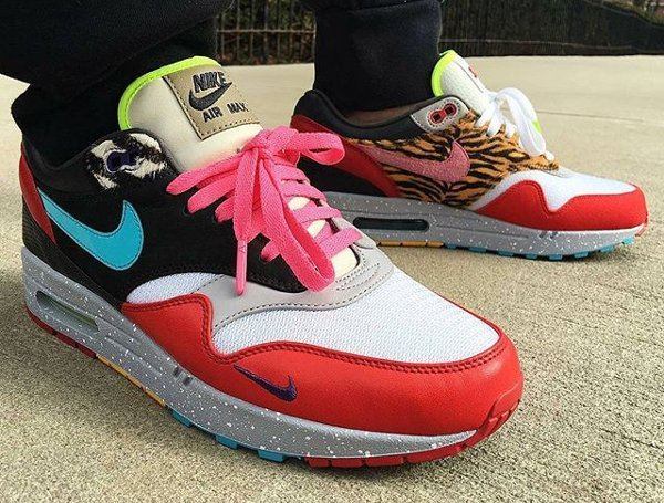 Nike Air Max 1 Bespoke - @alldayroman (mini swoosh)