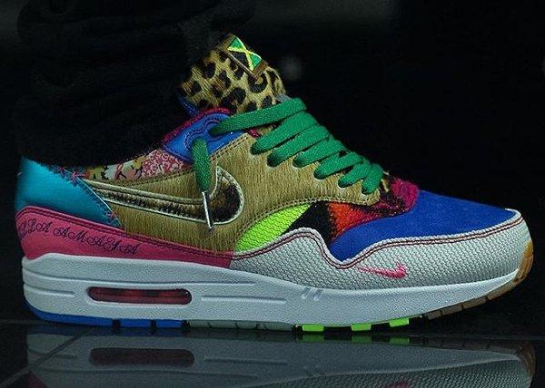 Nike Air Max 1 Bespoke - @solelove1 (mini swoosh)