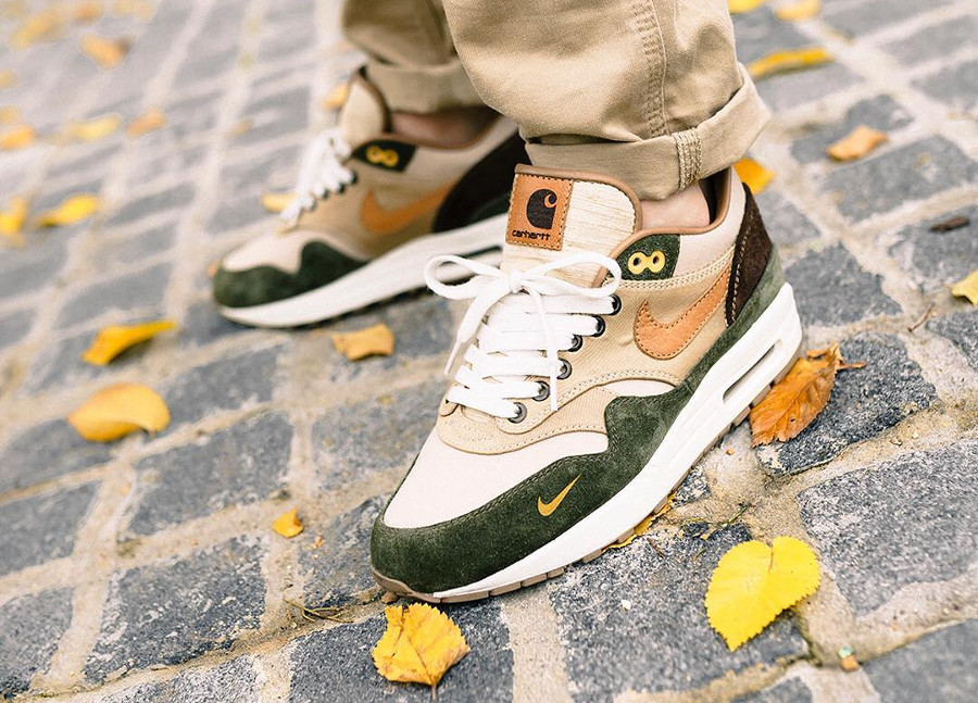 Nike Air Max 1 Duck Canvas Carhartt - @lucasblackman