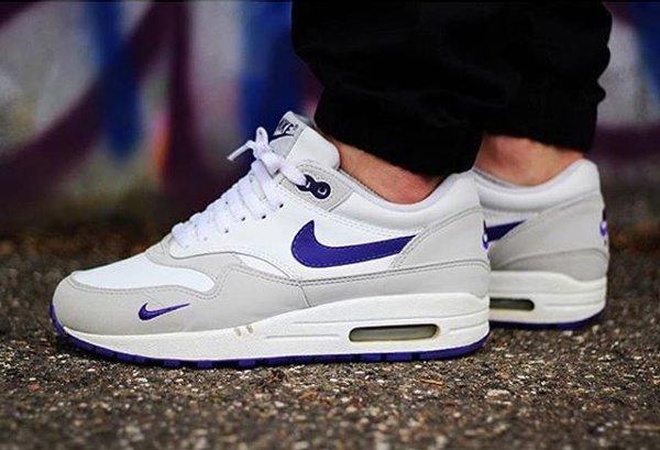 Nike Air Max 1 Grape - @kicksssssss (mini swoosh)