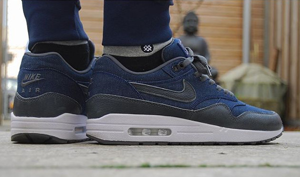 cheap for discount 9826a 26b43 ... denim  nike air max 1 id new options available nikestore uk  sneakernews  nikeid 45 baskets personnalisées . ...
