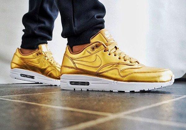 Nike Air Max 1 ID Metallic Gold - @polskasole