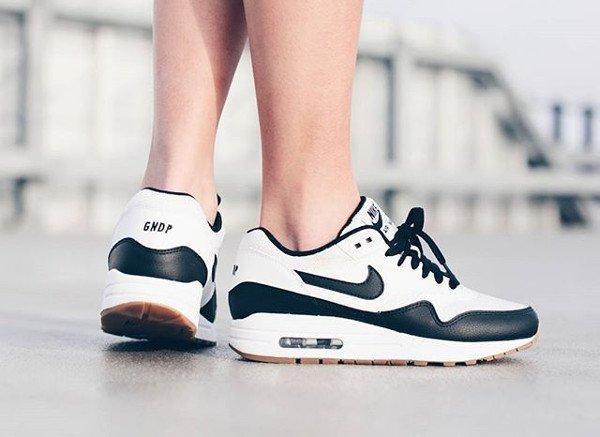 Nike Air Max 1 ID Panda Gumsole - @bigeyeslittlesoles