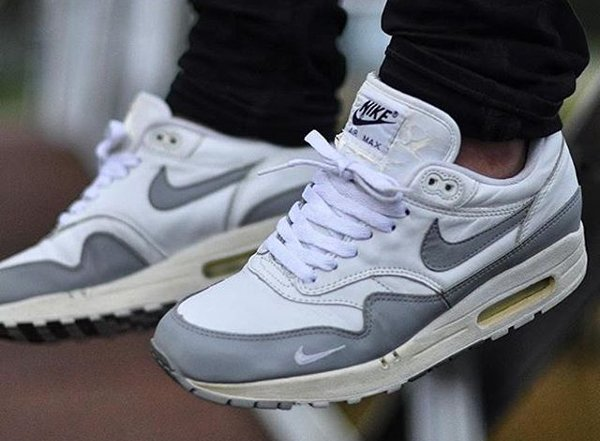 Nike Air Max 1 Leather Medium Grey - @tomasterrr