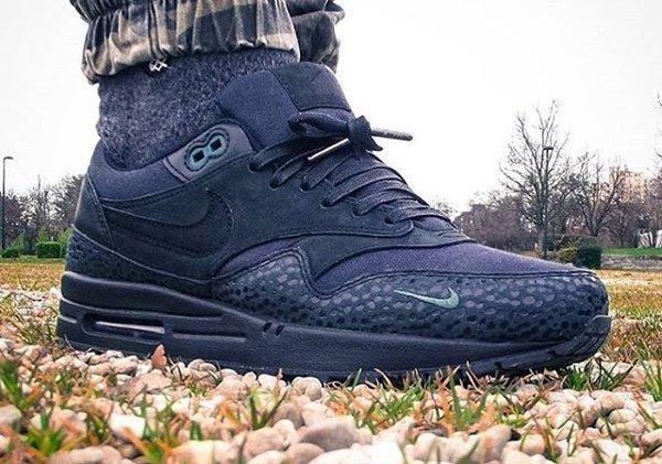 Nike Air Max 1 PRM Safari Black Bonsai - @snkrs93