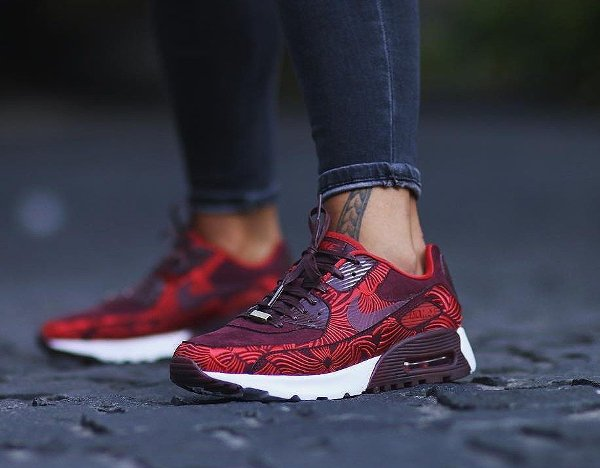 new style 85603 d8029 ... canada nike air max 90 ultra lotc shanghai maroon red qs pas cher 8  37630 44902