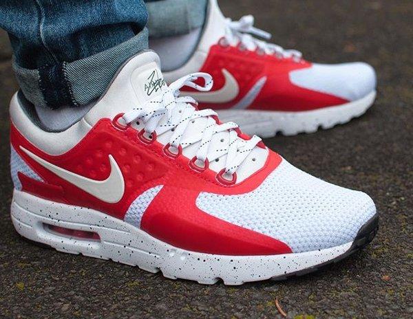 Nike Air Max Zero ID OG Red - @andradas