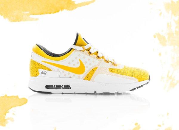 Nike Air Max Zero White Yellow (Quickstrike) (1)