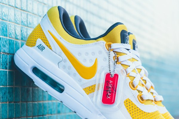 Nike Air Max Zero White Yellow (Quickstrike) (8)