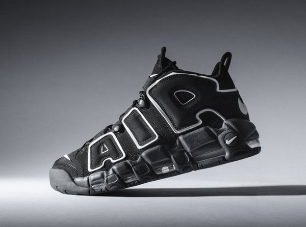 Nike Air More Uptempo OG Black White 2016
