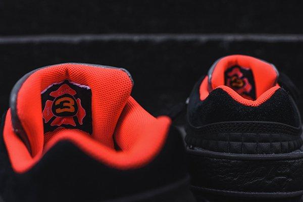 Nike Air Trainer Victor Cruz Black Bright Crimson (Quickstrike) (8)