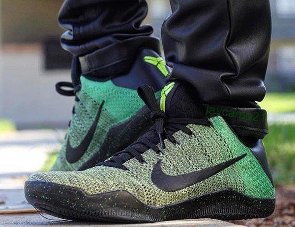 Nike Kobe 11 ID Green Snake - @jaycamp21