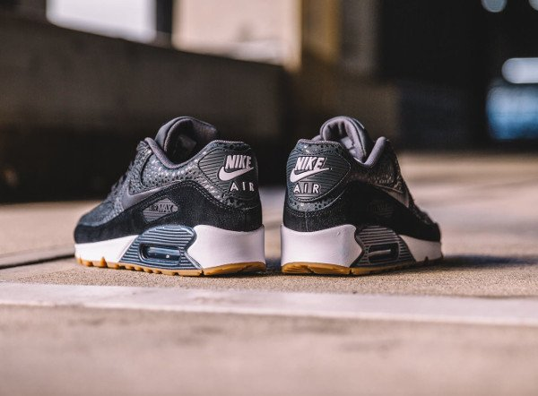 Nike Wmns Air Max 90 Premium Black Safari Gum (femme) (2)