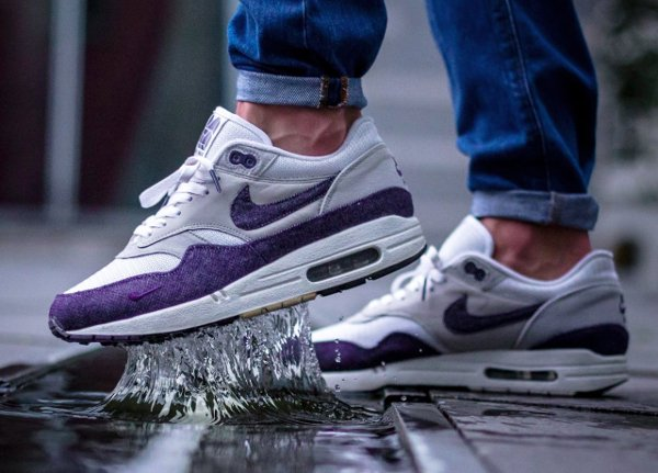 Patta x Nike Air Max 1 Purple Denim - @robin_we1