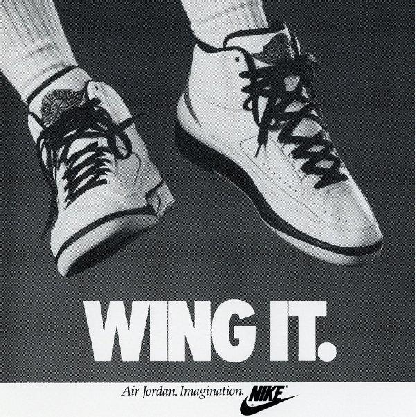Poster air jordan 2 wing it