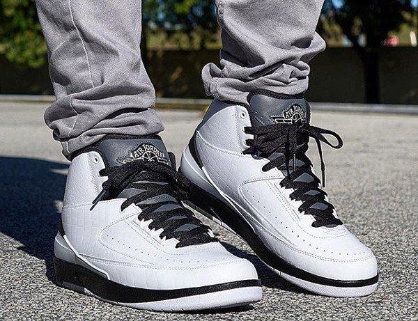 acheter Air Jordan 2 Retro Croc Wing It pas cher (2)