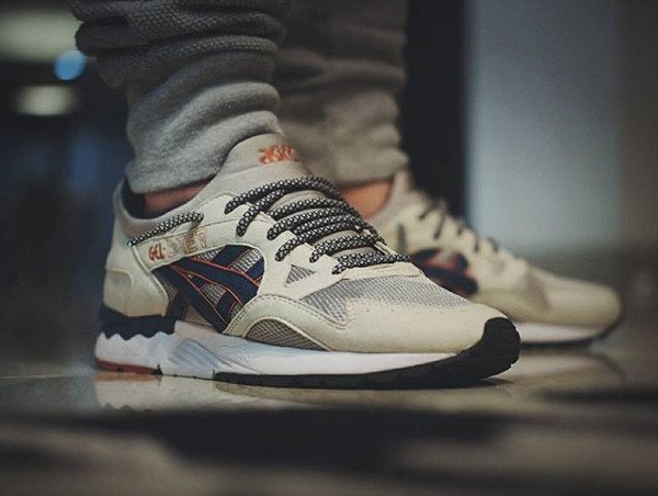 asics gel lyte 5 white light grey